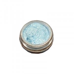 Слюда для макияжа глаз и тела Clever cat голубая №6