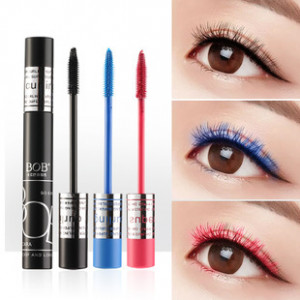 Тушь с подкручивающим эффектом BOB Charm Color Mascara 3 цвета