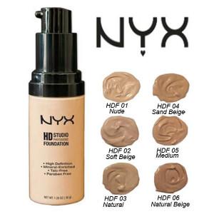 Тональный крем для лица NYX HD Studio Photogenic Foundation