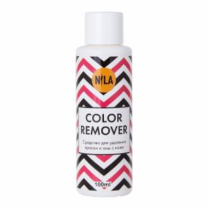 Средство для удаления краски и хны с кожи NILA Color Remover, 100 мл