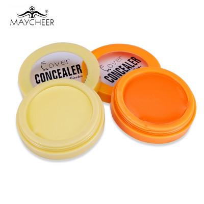 Консилер под глаза  MAYCHEER Cover Concealer желтый и оранжевый.