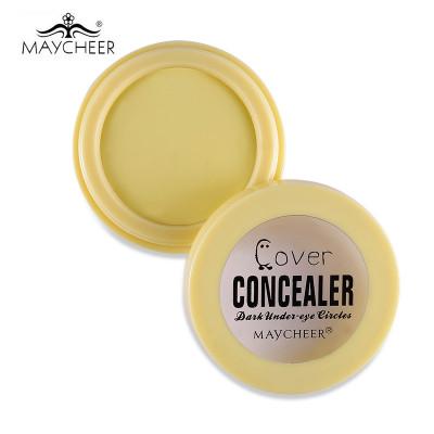Консилер под глаза  MAYCHEER Cover Concealer желтый