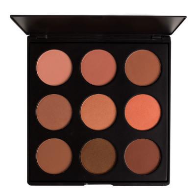 Палитра румян MORPHE 9N The Naturally Blush Palette