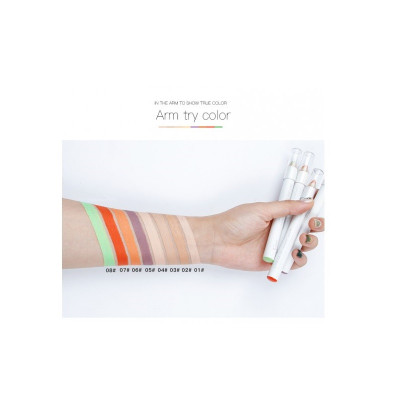 Консилер-карандаш + точилка PUDAIER Color Correcting