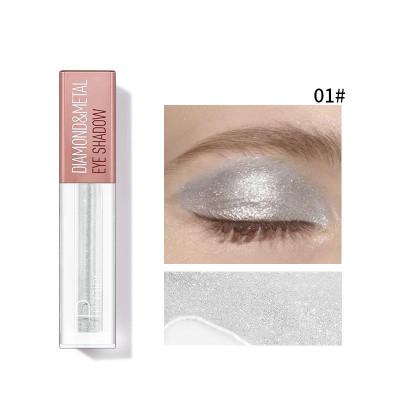 Кремовые тени для век PUDAIER Diamond And Metal Eye Shadow № 01
