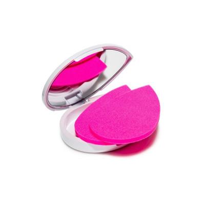 Cпонж матирующий для лица Beautyblender blotterazzi Набор 2 шт в удобной коробочке с зеркальцем