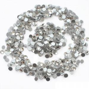 Стразы для декора цвет Crystal размер 1,5-1,6 мм  SS4 100 шт.