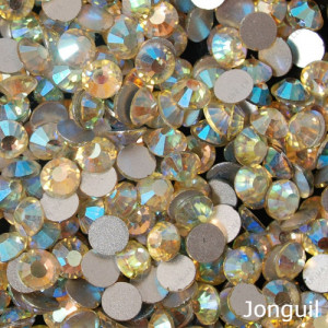 Стразы для декора цвет Jonguil AB размер 1,5-1,6 мм  SS4 100 шт.