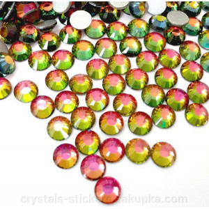 Стразы для декора цвет Rainbow AB размер 1,3-1,4 мм  SS3 100 шт.