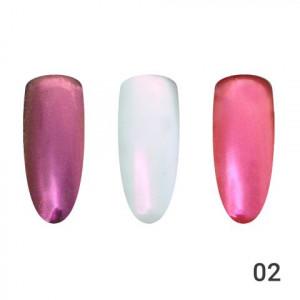 Жемчужная втирка для ногтей Global Fashion 02