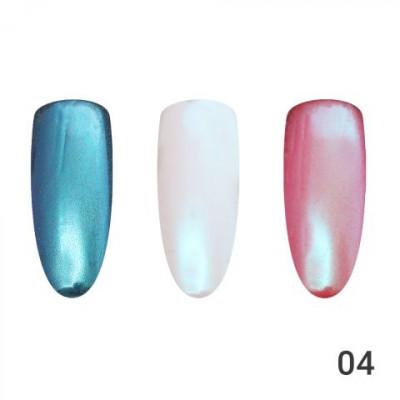 Жемчужная втирка для ногтей Global Fashion 04