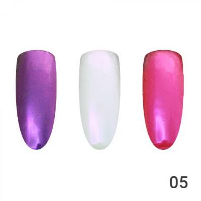 Жемчужная втирка для ногтей Global Fashion 05