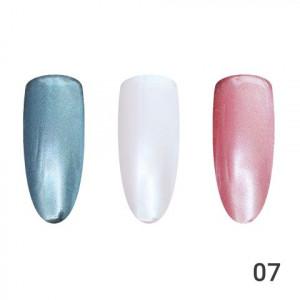 Жемчужная втирка для ногтей Global Fashion 07