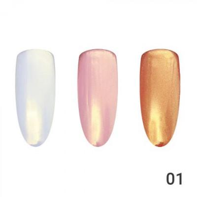 Жемчужная втирка для ногтей Global Fashion 01