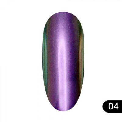 Втирка для ногтей Global Fashion, Magic mirror powder 04
