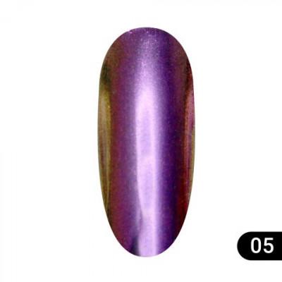 Втирка для ногтей Global Fashion, Magic mirror powder 05