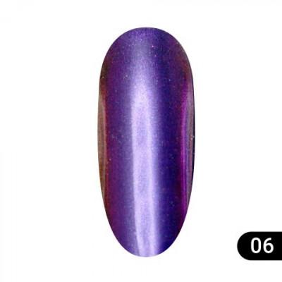 Втирка для ногтей Global Fashion, Magic mirror powder 06