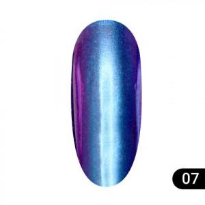 Втирка для ногтей Global Fashion, Magic mirror powder 07