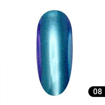 Втирка для ногтей Global Fashion, Magic mirror powder 08