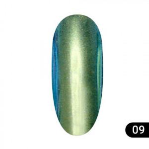 Втирка для ногтей Global Fashion, Magic mirror powder 09