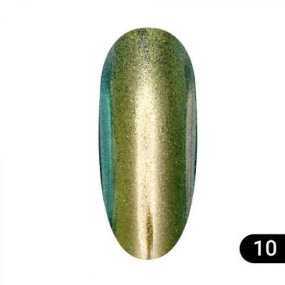Втирка для ногтей Global Fashion, Magic mirror powder 10