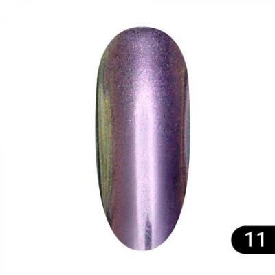 Втирка для ногтей Global Fashion, Magic mirror powder 11