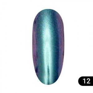 Втирка для ногтей Global Fashion, Magic mirror powder 12