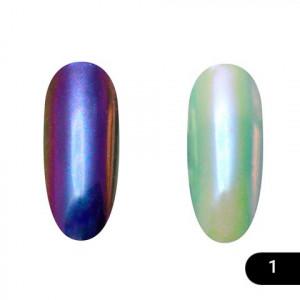 Втирка для ногтей Global Fashion, Neon powder 01