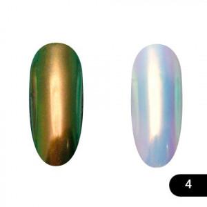 Втирка для ногтей Global Fashion, Neon powder 04