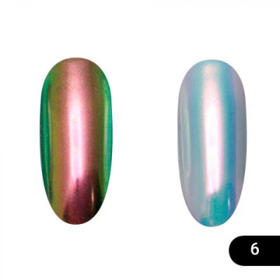Втирка для ногтей Global Fashion, Neon powder 06
