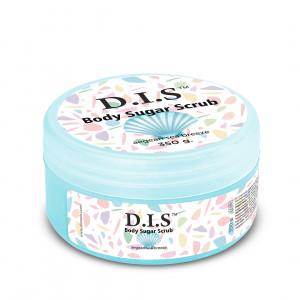 Сахарный скраб для тела с ароматом свежести DIS NAILS Body Sugar Scrab, 350 г