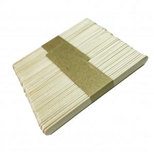 Шпатель деревянный узкий для депиляции, 50 шт/уп
