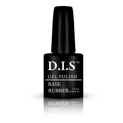 Базовое покрытие для гель лака  D.I.S Nails Base Rubber, 7.5 мл