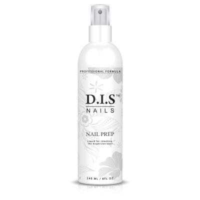 Обезжиривающее и обеззараживающее средство D.I.S Nails Nail Prep 240 мл