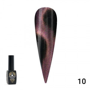 Гель лак GLOBAL FASHION 24 D Cat Eyes, 8 мл №10