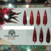 Гель лак GLOBAL FASHION Red Diamond , 8 мл №001