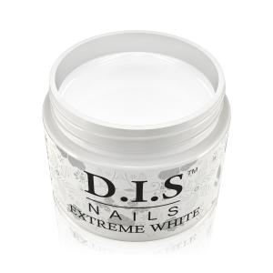 Гель для френча белый DIS Extreme White (холодно белый, не имеет липкого остатка) 30 мл