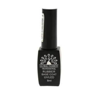 База каучуковая GLOBAL FASHION, Rubber Base Coat 8ml