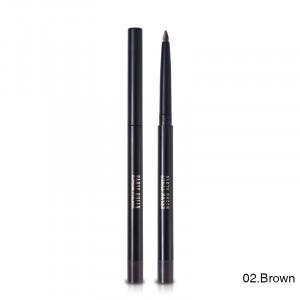 Автоматический Карандаш для глаз стойкий гелевый коричневый PARTY QUEEN 24h Waterproof Brown 02