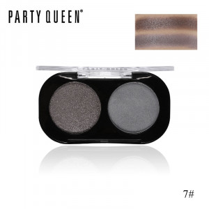 Тени для век 2 цвета PARTY QUEEN Artist Shadows Duo Palette #07