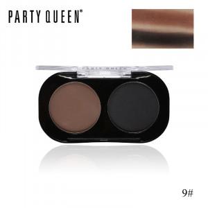 Тени для век 2 цвета PARTY QUEEN Artist Shadows Duo Palette #09