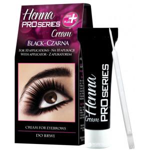 Краска для бровей и ресниц VERONA Henna PROseries, цвет черный