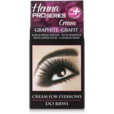 Краска для бровей и ресниц VERONA Henna PROseries, цвет графит