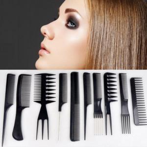 Набор профессиональных расчесок для волос 10 шт.